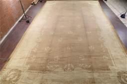 Palace Sized 18x30 Oushak Turkish Oriental Rug