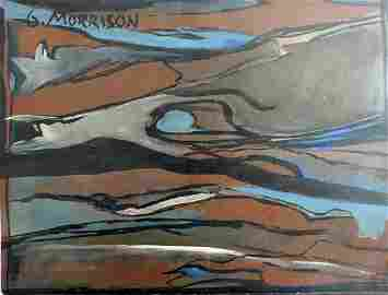 George Morrison Attributed to- Abstract painting