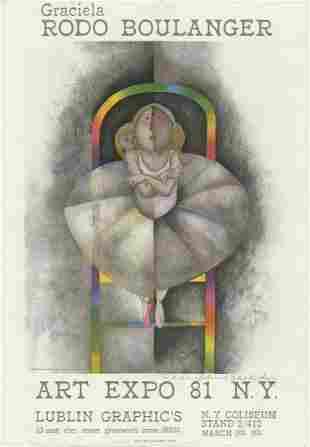 Graciela Rodo Boulanger - Art Expo 81
