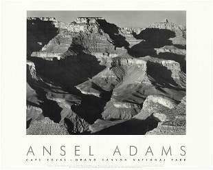 Ansel Adams - Cape Royal from the South Rim, Grand