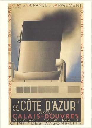 A.M. Cassandre - Cote d'Azur