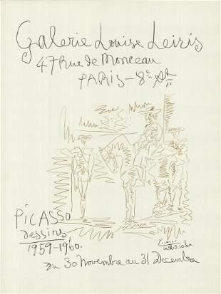 Pablo Picasso - Dessins 1959-1960