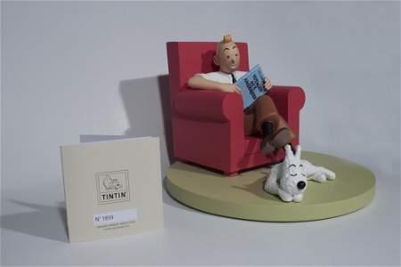 Herge - Tintin at Home