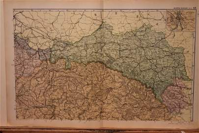 1892 Map of Hungary