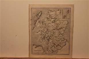 1859 Map of Scotland