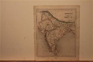 1859 Map of Hindoostan