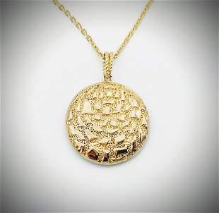 Necklace & Islands in the Ocean Pendant w Black Onyx
