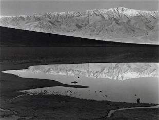 ANSEL ADAMS - Sunrise, Bad Water, Death Valley, 1948