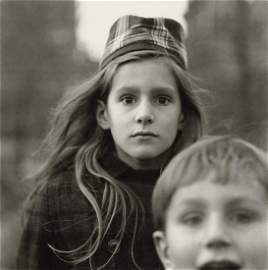 DIANE ARBUS - Girl in a Watch Cap, NYC, 1965