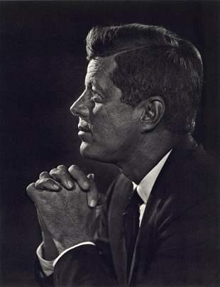 YOUSUF KARSH - John F. Kennedy