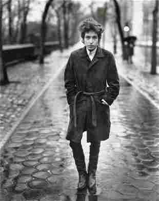 RICHARD AVEDON - Bob Dylan, Musician, New York, 1965