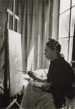 MANUEL ALVAREZ BRAVO - Frida Kahlo, Two Brushes, 1930