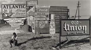 ARNOLD NEWMAN - Billboards, Florida, 1940