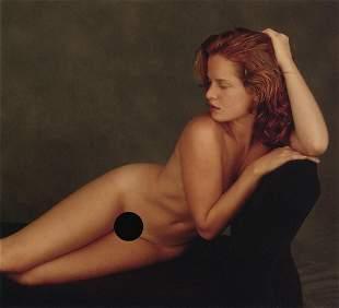 HOWARD SCHATZ - Nude on Couch
