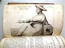 1793 European Magazine Engravings Franklin Louis XVI