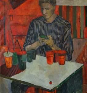 """Tomato juice"" by Elena Korneeva"