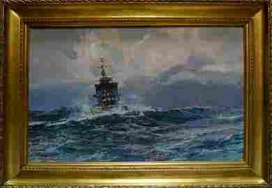 Oil painting Sea Stolyarenko Petr Kuzmich