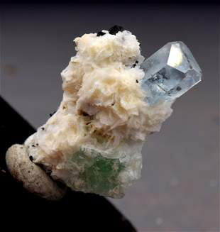 Aquamarine specimen Crystal , Natural Aquamarine &