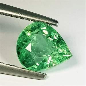 1.55 ct Natural Green Apatite