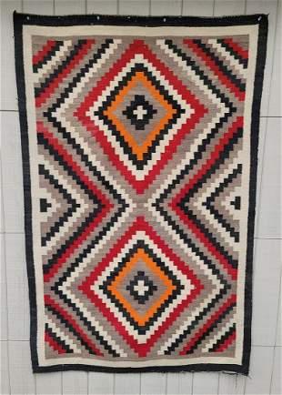 Early Ganado Trading Post Navajo rug ca 1900-1920