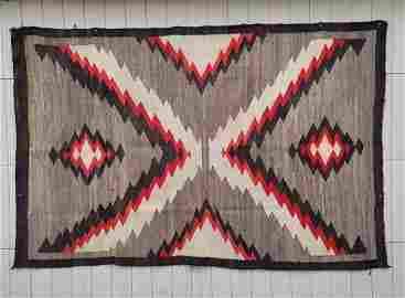 Large Navajo Ganado rug ca 1915-1930
