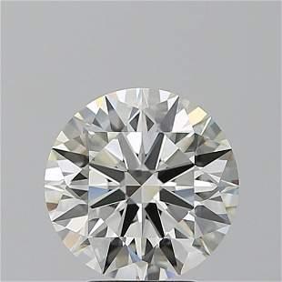 3.13 ct, Color H/VVS2, Round cut GIA Graded Diamond