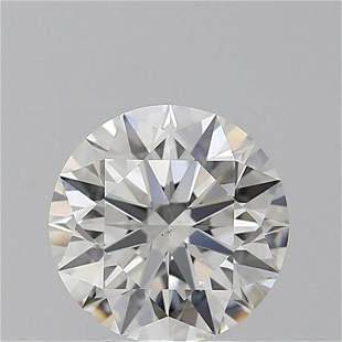 3.02 ct, Color F/VS2, Round cut GIA Graded Diamond