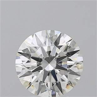 3.01 ct, Color H/VS2, Round cut GIA Graded Diamond