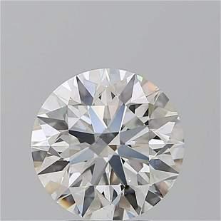 3.01 ct, Color E/VS2, Round cut GIA Graded Diamond