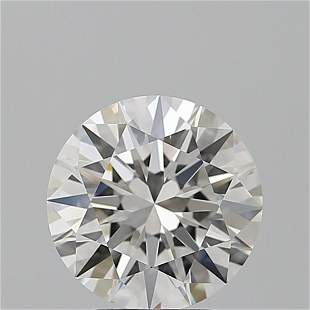 3.01 ct, Color F/IF, Round cut GIA Graded Diamond