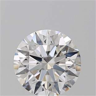 2.24 ct, Color F/VVS1, Round cut GIA Graded Diamond