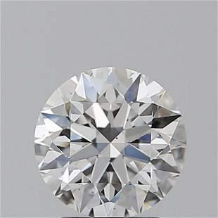 2.01 ct, Color D/VS2, Round cut GIA Graded Diamond