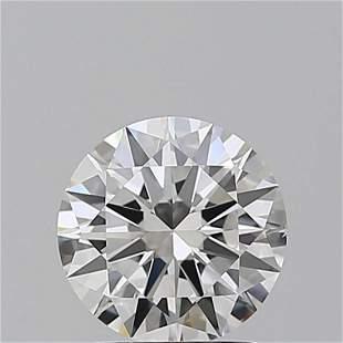 1.50 ct, Color F/VS2, Round cut GIA Graded Diamond