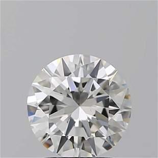 1.50 ct, Color G/VS1, Round cut GIA Graded Diamond