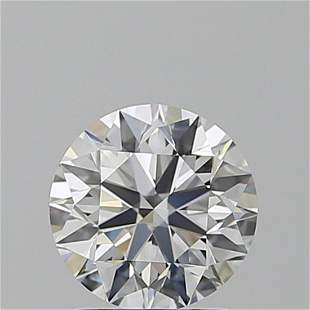 1.50 ct, Color D/IF, TYPE IIa Round cut GIA Graded