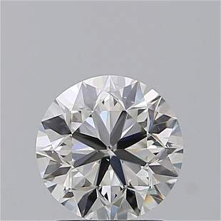 1.40 ct, Color F/VS2, Round cut GIA Graded Diamond