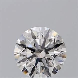 1.40 ct, Color D/VS2, Round cut GIA Graded Diamond