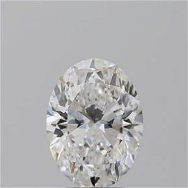 3.02 ct, Color D/VS1, Oval cut GIA Graded Diamond