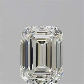 3.01 ct, Color H/VS1, Emerald cut GIA Graded Diamond