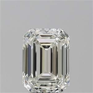 3.01 ct, Color H/VS1, Emerald cut GIA Graded Diamond
