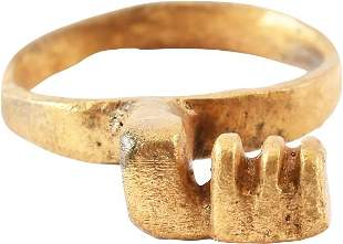 ROMAN KEY RING C.100-300 AD JEWELRY SIZE 6 3/4