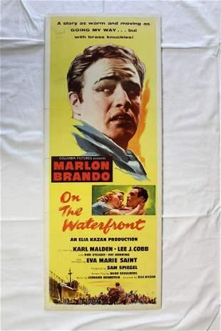 On The Waterfront - Brando (1954) US Insert Movie
