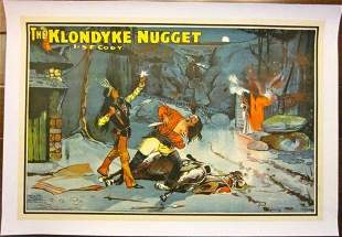 "The Klondyke Nugget (1898) 19"" x 29"" US Theater"