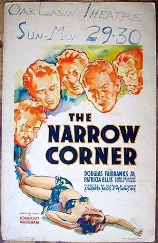 Narrow Corner - Douglas Fairbanks (1933) Pre-Code US