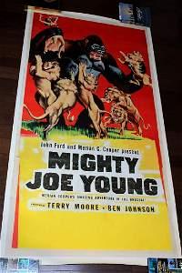 Mighty Joe Young (1949) 3 Sheet Linen Backed Movie
