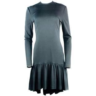 Vintage PATRICK KELLY Paris Black Long Sleeve Wool Mini