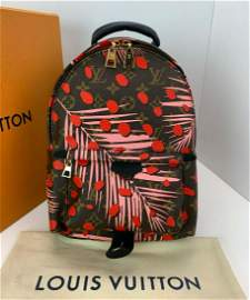 LOUIS VUITTON Palm Springs PM Monogram Palms Backpack