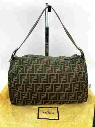 Fendi Zucca Soft Canvas Hand bag or small duffle bag