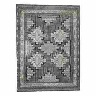 Hand-Knotted Pure Wool Peshawar with Southwestern