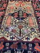Hand Knotted Persian 4x6 ft